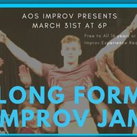 Long Form Improv Jam (ages 16)