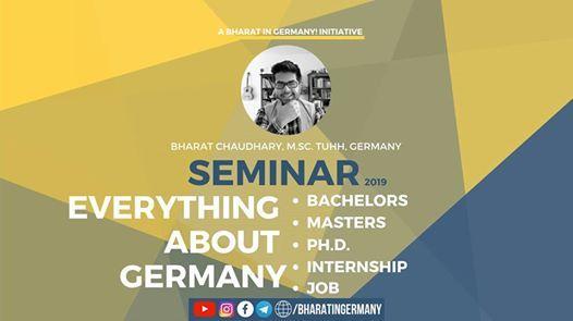 Everything About Germany Seminar in Kolkata