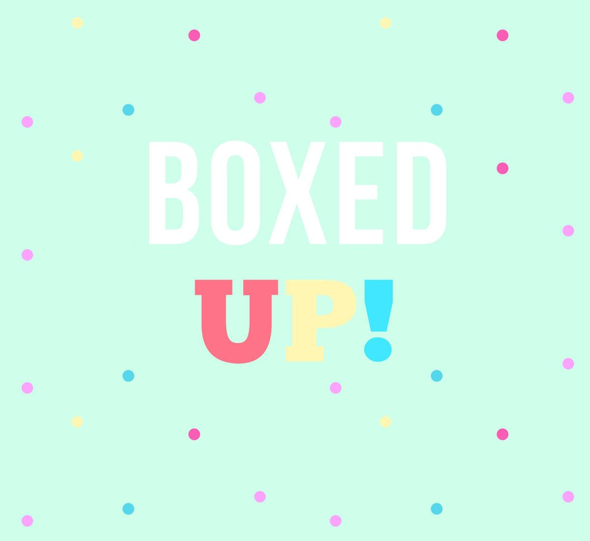 BOXED UP Easter Egg Box Decorating Party