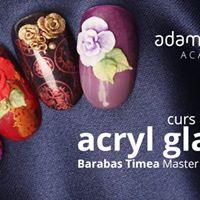 Curs Tehnici de decor Acryl Glam Satu Mare