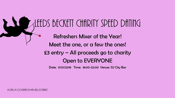 Leeds Beckett Speed Dating - Refreshers
