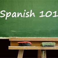 Intro to Spanish Class
