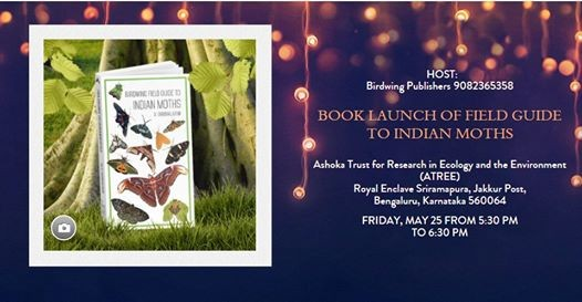 Book Launch Field Guide to Indian Moths