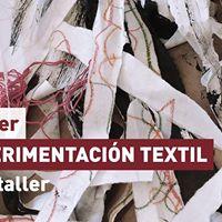 Taller de experimentacin textil con Concha Romeu