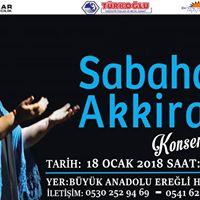 Trk Halk mziinin Gl Sesi Sabahat Akkiraz Ereli Konseri