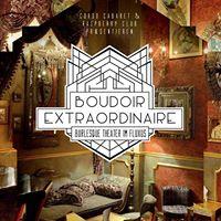 Boudoir Extraordinaire - Burlesque Theater im Fluxus
