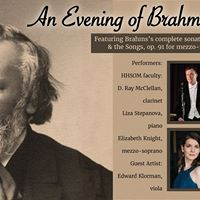 An Evening of Brahms