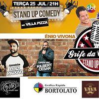 Stand up comedy no Villa com Enio Vivona e Jeffinho Farias