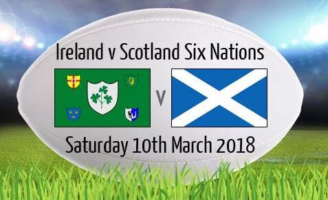 Ireland v Scotland - Dublin Weekend