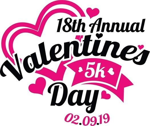 18th Annual Valentines Day 5k (Running Endurance Challenge Race)
