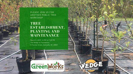 Tree Establishment Planting and Maintenance Workshop