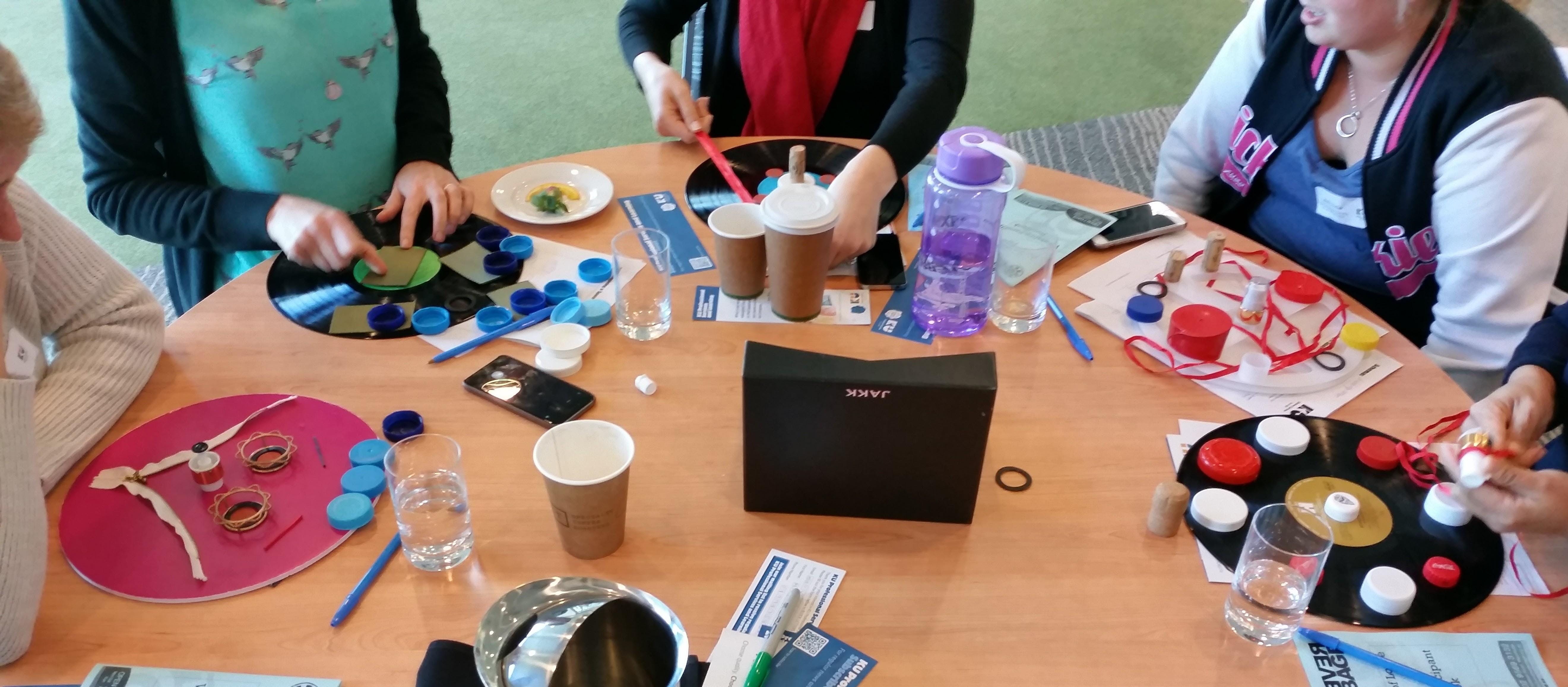 Sustainability Loose Parts &amp Creative Reuse Workshop for Educators
