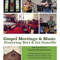 Gospel Meetings &amp Music