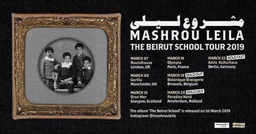 Mashrou Leila  Berlin (Ausverkauft)