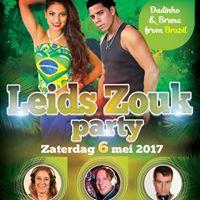 65 Leids Zouk Party (Leiden) with Dadinho &amp Bruna from Brasil