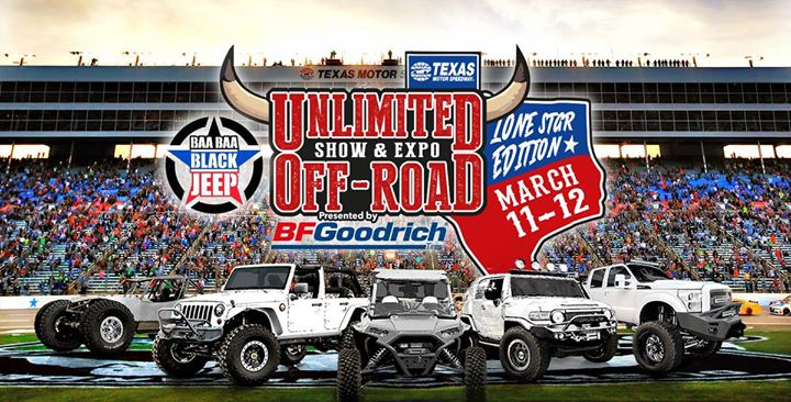 Meet up at unlimited off road show expo lone star for Lone star motors fort worth texas