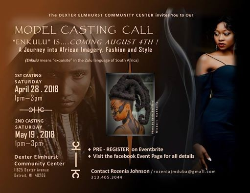 Model Casting Call for Enkulu: A Journey into African Imagery