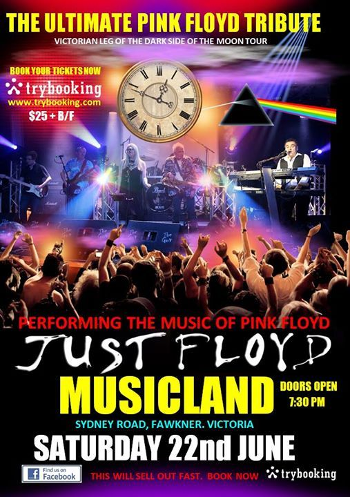 JUST FLOYD - The ultimate PINK FLOYD Tribute at Musicland