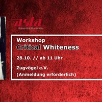 Workshop &quotCritical Whiteness&quot
