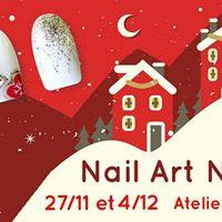 Atelier Nail Art gratuit sur le Thme de Nol avec AnnSo Nails