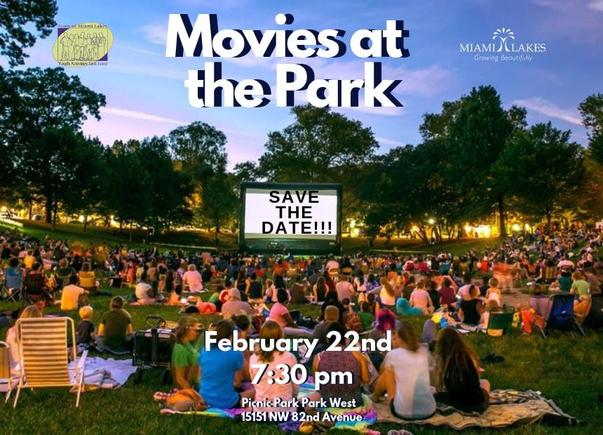 YATF- February Movies at the Park Sponsorship Package