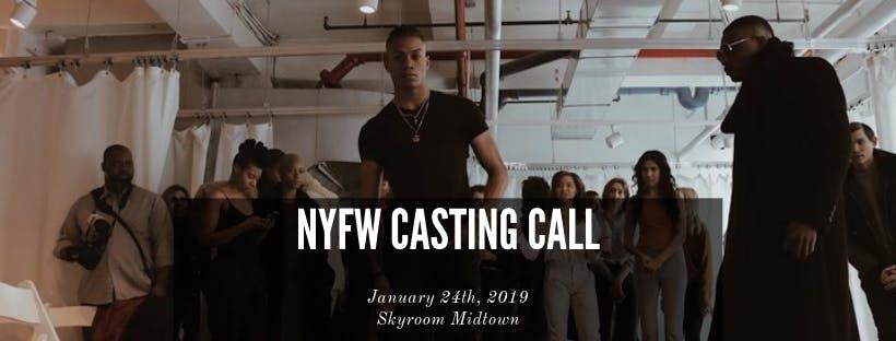 NYFW Model Casting Call - SKYROOM Midtown