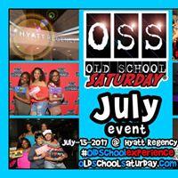 Next -&gt OSS [Old School Saturday] at Hyatt [Aug.19.2017]