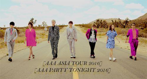 AAA ASIA TOUR 2016 Singapore