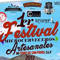 1er. Festival Microcerveceros en Cerro de San Pedro
