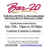 Lorenzo Lorenzo Lorenzo - Sunset Strip