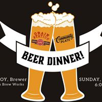 Beer Dinner with Grain Station Brewery
