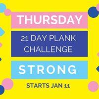 Plank Challenge and Graduation Contest