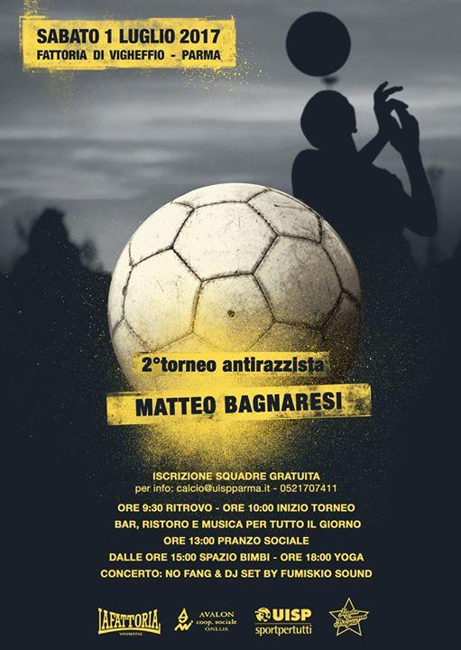 Torneo Antirazzista Matteo Bagnaresi 2017 2 Edizione At La