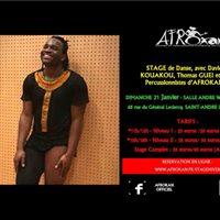 Afrokan Stage de Danse dAfrique avec David Kouakou