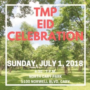 TMP 2018 Eid Celebration