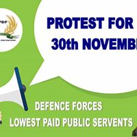 Support Our Irish Defence Forces 24 HOUR Protest