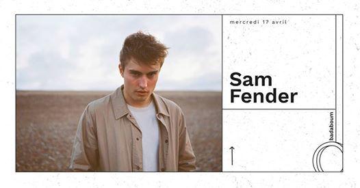 Badaboum Concert  Sam Fender  17.04.19