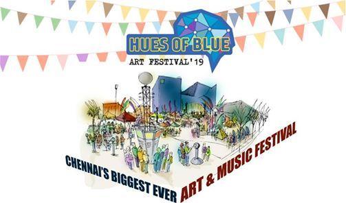Hues of Blue -Art & Music Festival
