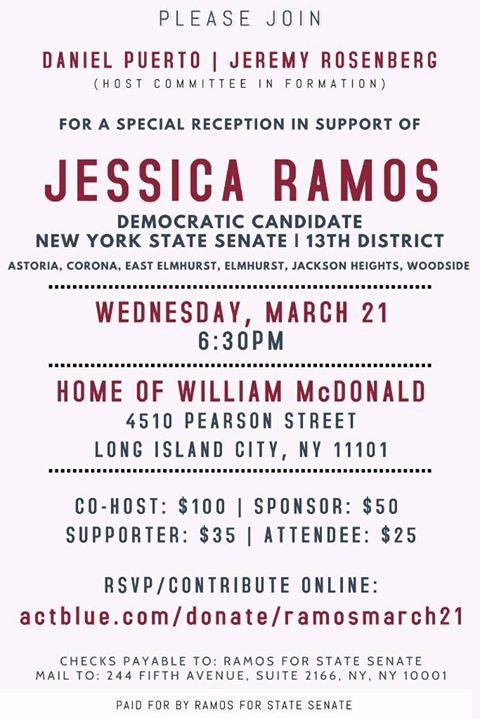 LGBT Community Fundraiser for Jessica Ramos