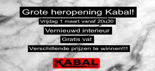 Heropening Kabal