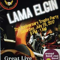 LAMA Elgin 2nd Anniversary Trophy Party