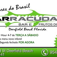 Roger de Moura Live at Barracuda Bar and Seafood Deerfield Beach