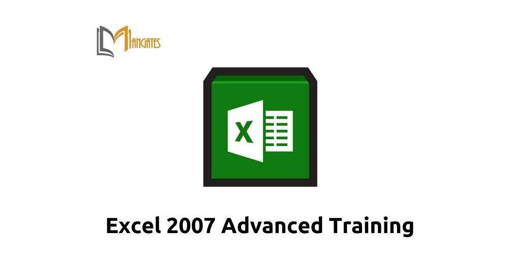 Excel 2007 Advanced Training in Ottawa on Apr 18th 2019