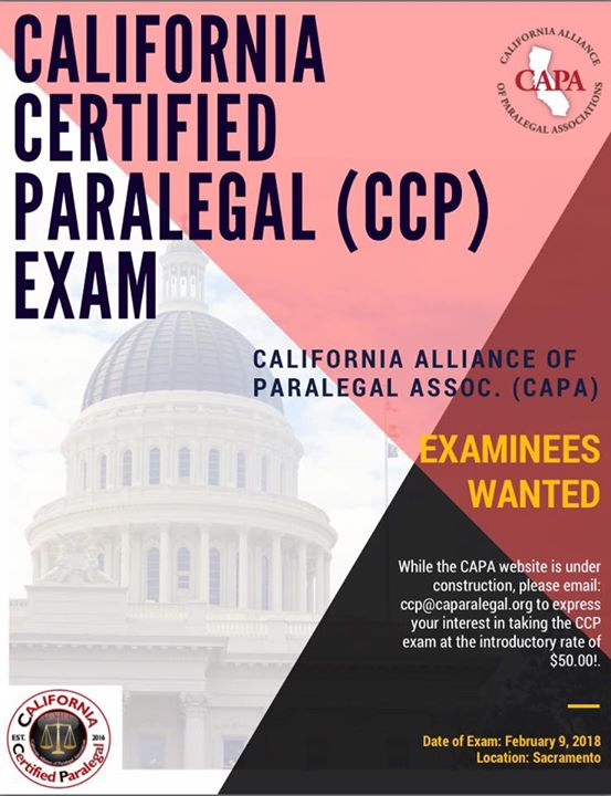 California Certified Paralegal Exam At Mti College Sacramento