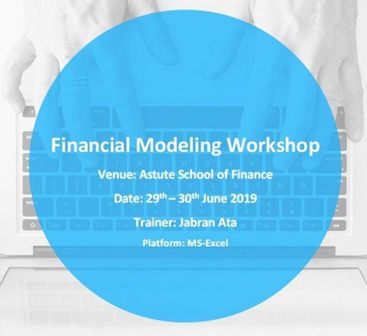 Financial Modeling Workshop