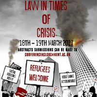 KCLS Annual Conference - Law in Times of Crisis