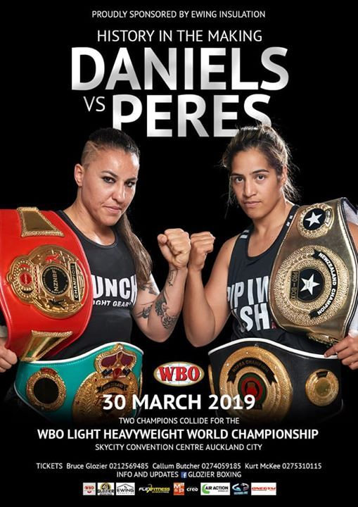 WBO Womens World Championship at Skycity Convention Centre, Auckland
