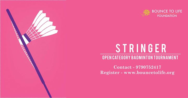 Stringer Badminton Tournament At Dhanraj Baid Jain College