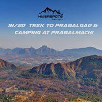 1N2D Trek to Prabalgad &amp Camping at Prabalmachi