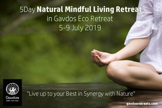 5 Day Natural Mindful Living Retreat  in Gavdos Eco retreat